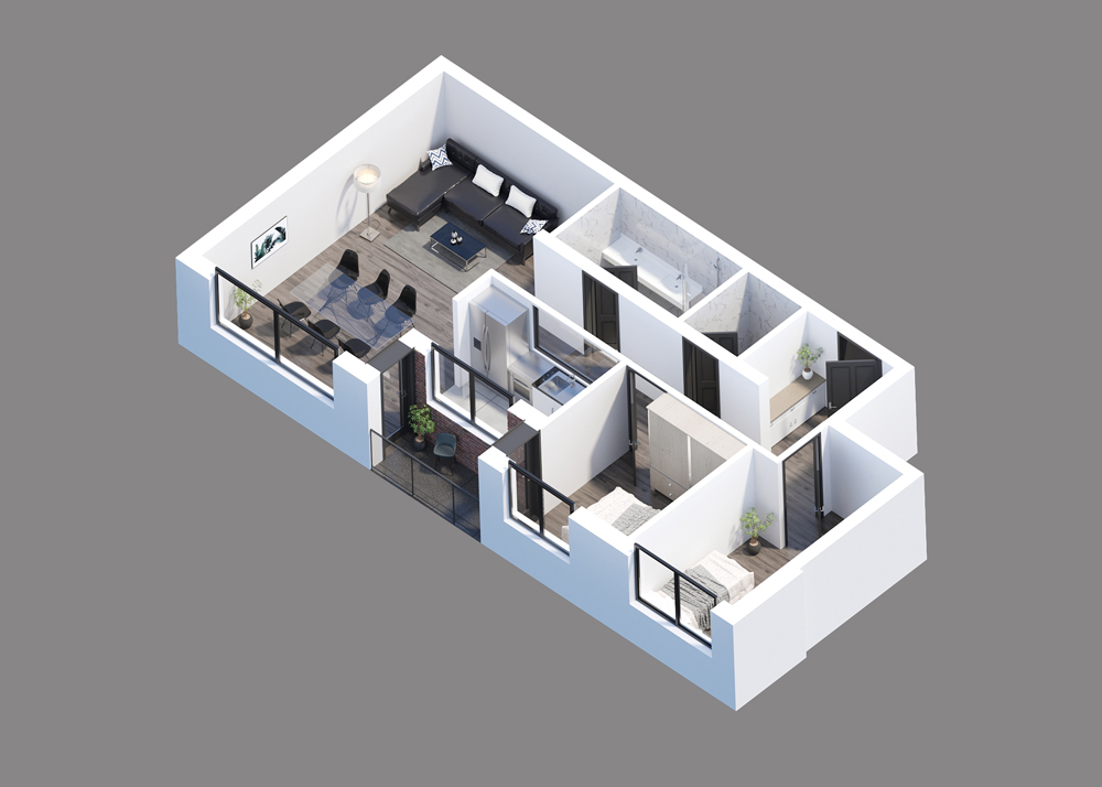 PROJEKAT KVARTET - Prodaja stanova